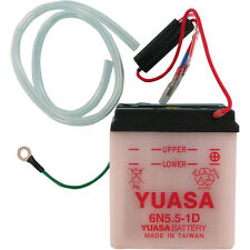 Yuasa Conventional Battery-NO ACID- Honda CT90 Trail 66-79