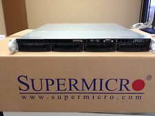 1U Supermicro E3-1230 v.2 / 3.3Ghz Xeon / 8GB / 4 hot swap chassis