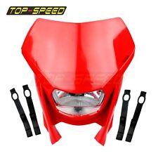 12V RED HEADLIGHT KTM ENDURO MOTOCROSS STREETFIGHTER FOR HONDA CRF230F 150 ALIEN