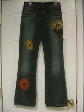 MISS SIXTY LUXURY PATCHWORK JEANS SIZE 30