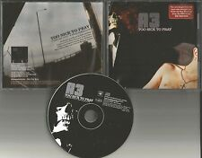 A3 A 3Too Sick to Pray EDIT PROMO CD single Sopranos w/ PRINTED LYRICS Alabama 3