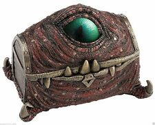"""Mimic"" Chest Dragon Eye Veronese Design New 7.25"" Trinket Box"
