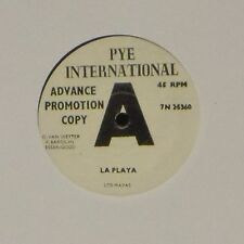 "LOS MAYAS 'LA PLAYA' UK 7"" SINGLE ADVANCE PROMOTION COPY"