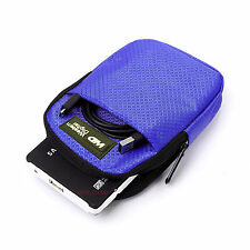 Waterproof Hard Disk Cover Case Pouch For WD Seagate Sony HP Dell etc. #blue
