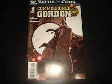 BATMAN : BATTLE FOR THE COWL - COMMISSIONER GORDON  #1   DC Comics 2009  NM