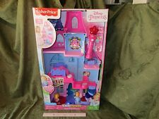 Fisher Price Little People Disney Princess Magical Wand Palace Princesses New