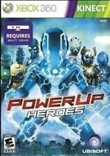 XBOX 360 GAME POWER UP HEROES BRAND NEW & FACTORY SEALED