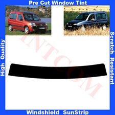 Pre Cut Window Tint Sunstrip for Peugeot Partner 1997-2007 Any Shade