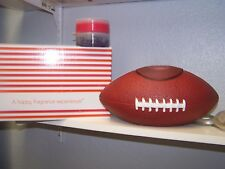 GOLD CANYON CANDLE FOOTBALL POD WARMER W/ 2 PODS HARD TO FIND
