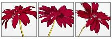 Wooden Art Picture Photo Giclee Multi Panel Floral Plum Poster Print Wall Canvas