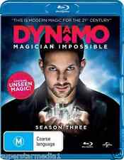 Dynamo - Magician Impossible : Series 3 : NEW Blu-Ray