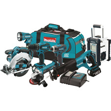 Makita XT702 18V LXT Lithium-Ion Cordless Combo Kit (7 Piece)