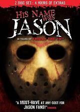 His Name Was Jason - 2 Disc DVD Collector's Edition - Jason Vorhees