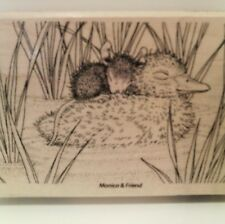 "New! Stampendous House-Mouse ""Ducky Nap"" WM Rubber Stamp"