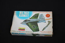 U993 Lindberg 1/72 maquette avion  ME 163 KOMET WWII german rocket powered 1121