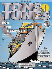 Tons of Tunes for the Beginner: Flute/Oboe/Violin - Grade 0.5 to 1 by Adam, Amy,