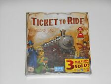 NEW Ticket To Ride Train Board Game From Days Of Wonder By Alan R. Moon 2012