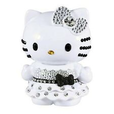 "Hello Kitty Limited Edition 4"" Doll Collectible Black White Crystal Rhinestone"
