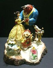 """Jim Shore Disney Traditions Beauty and the Beast Statue """"Tale as Old as Time"""""""