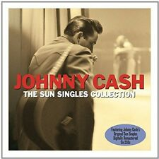 Sun Singles Collection - Johnny Cash (2014, CD NEU)2 DISC SET