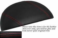 RED STITCHING FITS BMW Z3 1995-2003 SPEEDO GAUGE HOOD LEATHER SKIN COVER