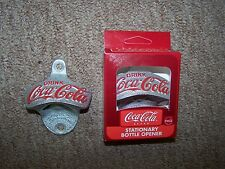 10 COCA COLA STARR X CAST METAL BOTTLE OPENER NEW IN BOX BROWN MANUFACTURING