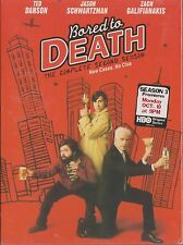 BORED TO DEATH - 2nd Series. Ted Danson, Jason Schwartzman (NEW/SEALED 2xDVD BOX
