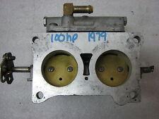 389988 Cast #323302 Lower Carburetor Assembly 1979 Johnson/Evinrude 100hp