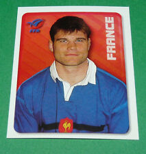 N°136 XV FRANCE FFR MERLIN IRB RUGBY WORLD CUP 1999 PANINI COUPE MONDE