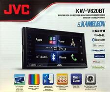 "JVC KW-V620BT 6.8"" Display Double DIN Bluetooth In-Dash Car Stereo w/ SiriusXM"