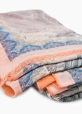 NEW Mango (ZARA Group) Multicolor Paisley Print Scarf Foulard