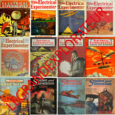 Ultimate Electrical Experimenter Magazines Collection  (143 PDF magazine on DVD)