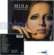 "MINA ""SUMMERTIME"" RARO CD CGD 1991 - FUORI CATALOGO"