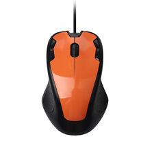 Luxus 1800DPI USB filaire Optique Jeux Souris pour PC Pc portable Orange