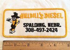 Hillbill's Diesel Logo Spalding Nebraska NE Embroidered Patch Emblem