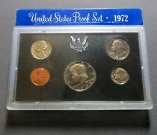 "*1972S  KENNEDY HALF  5-COIN ""PROOF"" SET, San Francisco Mint in Display Case #C"