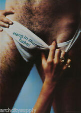 POSTER: HANG IN THERE BABE - SEXY MALE MODEL -  FREE SHIPPING !  #16-255  LW1 R