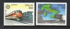 ITALY MNH 1988 SG1990-1991 EUROPA - TRANSPORT & COMMUNICATIONS