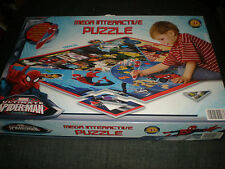 Spider-Man Mega Interactive Puzzle - Marvel. - COMPLETE
