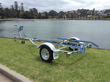 SeaTrail AL4.2M13, Galvanised Boat Trailer(Suits Aluminium Boat/Tinny upto 4.3m)