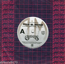 CARPENTERS Please Mr. Postman / This Masquerade 45