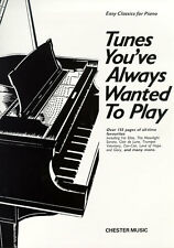 Tunes You've Always Wanted To Play Learn Clair de Lune Piano Music Book