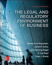 The Legal And Regulatory Environment of Business ISBN 978-0-07-802385-9