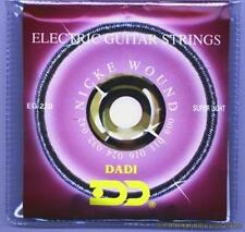 Dadi professional electric guitar strings 9-42 light set nickel wound hex steel