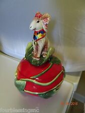 BIG HORN RAM SHEEP GOAT FIGURINE TRINKET BOX-NEW-DECORATIVE-COLLECTIBLE