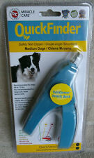 QuickFinder Safety Nail Clippers For Medium Dogs 40 - 75 lbs. ~ #3478 ~ **NEW**