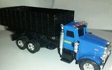 1/64 ERTL custom Peterbilt new Holland grain dump truck farm toy spec cast dcp