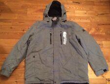 NWT Mens ZEROXPOSUR Heather Gray Therm-X Power Wool Jacket Coat Size 2XL $220