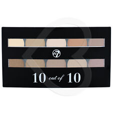 W7 10 Out of 10 Eyeshadow Palette-Browns, nudi, panna, beige Opaco & SHIMMER
