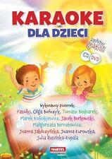 KARAOKE DLA DZIECI+ CD + DVD, polska ksiazka @PlayMedia
